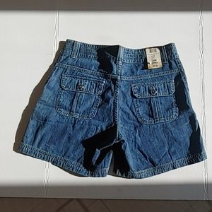 Lee Shorts - Lee denim with khaki tint cargo short.  Size 10 M
